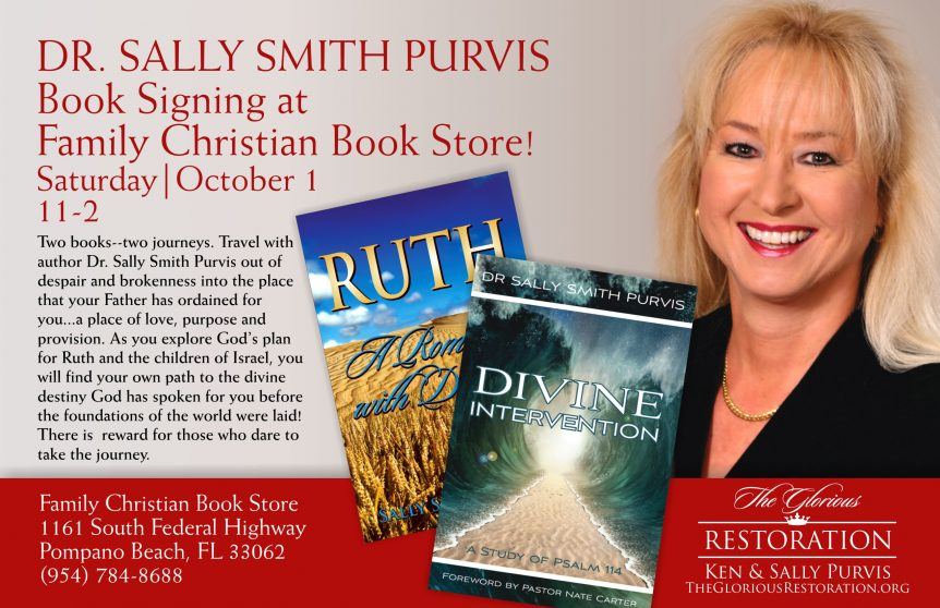 Family Bookstore Signing Oct 2016