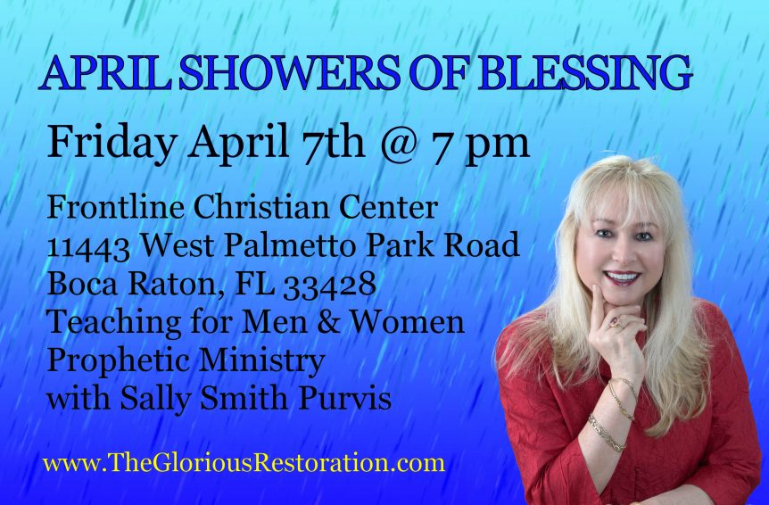 April Showers of Blessing