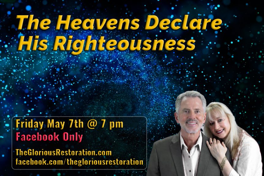 The Heavens Declare-His Righteousness Flyer