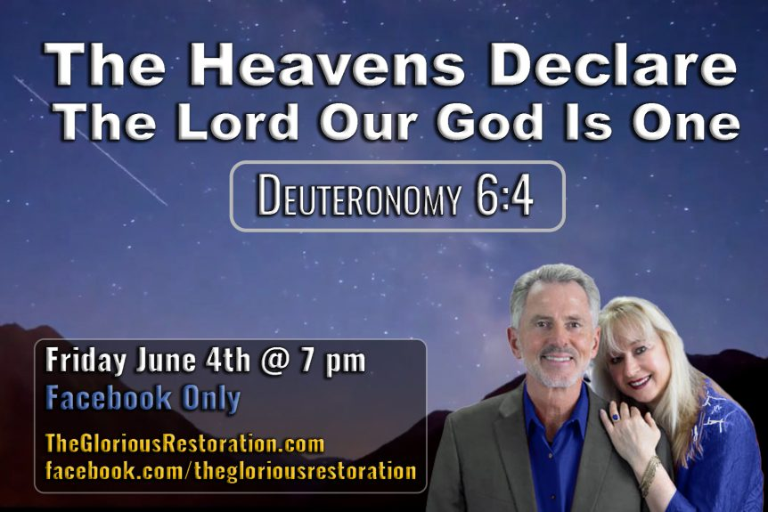 The Heavens Declare-The Lord Our God Is One Flyer